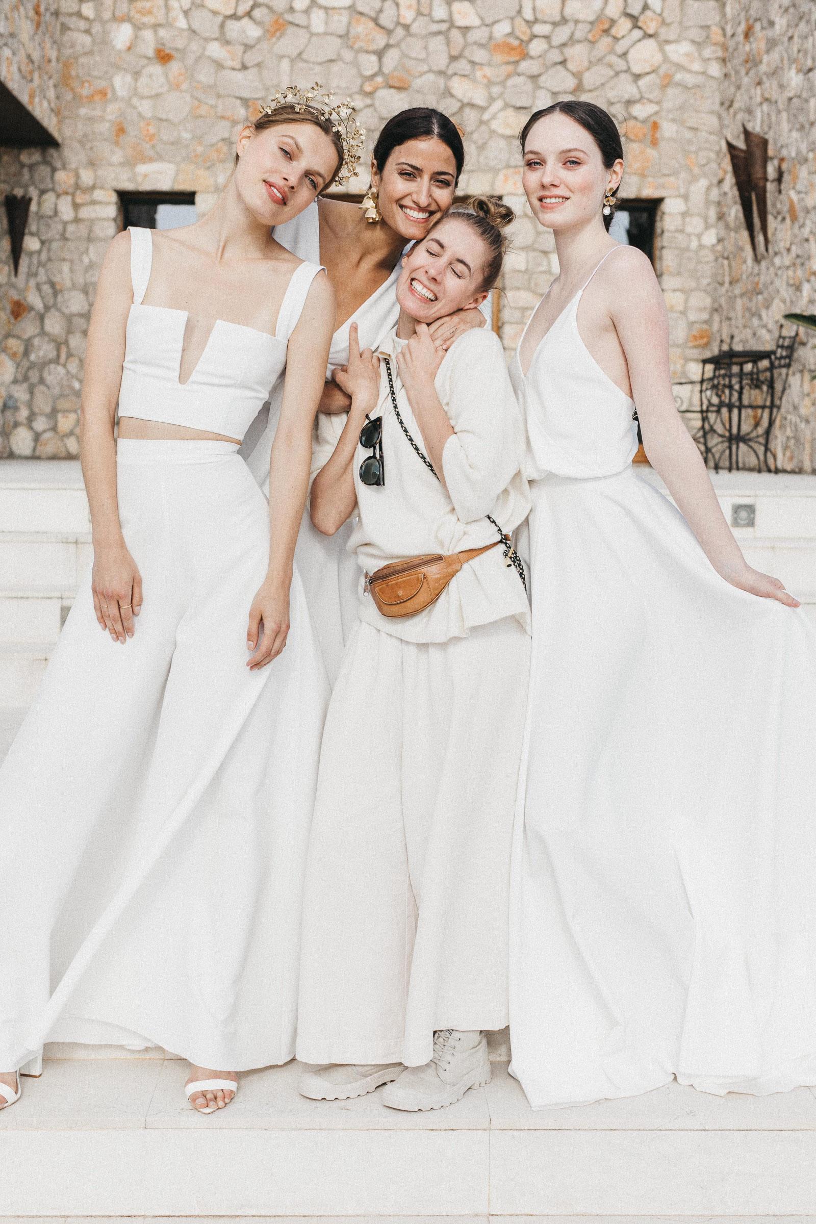WEDDING DRESSES annikamaria   simplicity in design   unique   modern
